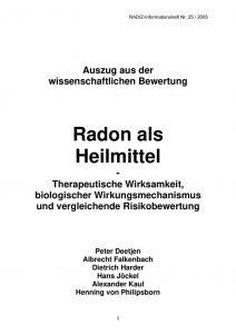 thumbnail of 0_Radon als Heilmittel – Kurzfassung