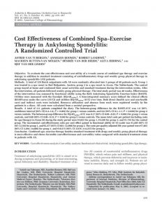 thumbnail of 8_Cost Effectiveness of Combined Spa-Exercise_ Van Tubergen A. et al.
