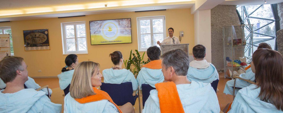 Heilstollen Vorträge zur Radontherapie