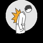 Icon Erkrankung und Schmerzen