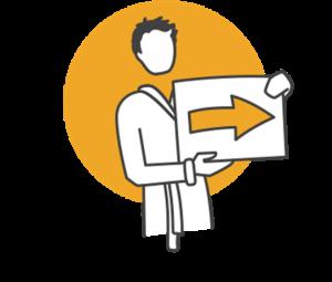Icon Kurantrag Patientenservice