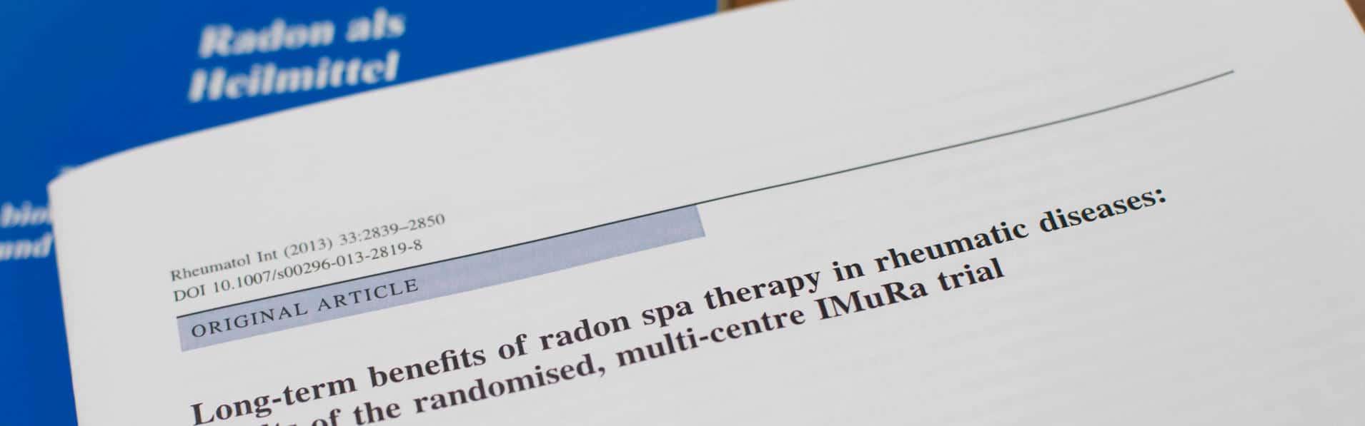 Studien zur Radontherapie bei Rheumatischen Erkrankungen_Imura