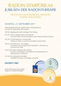 Radon Symposium in Gastein