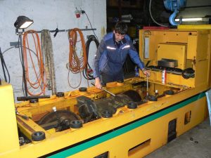 Elektroloks werden vom Heilstollen-Team teilweise selbstgebaut