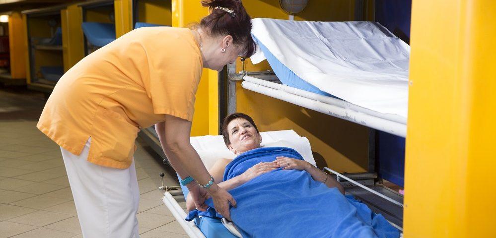 Osteoporosekur mit Radonanwendungen im Heilstollen