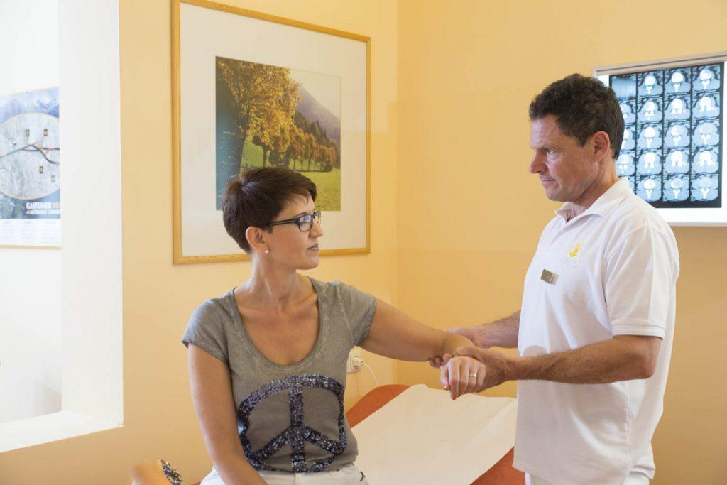 Untersuchung bei Fibromyalgie