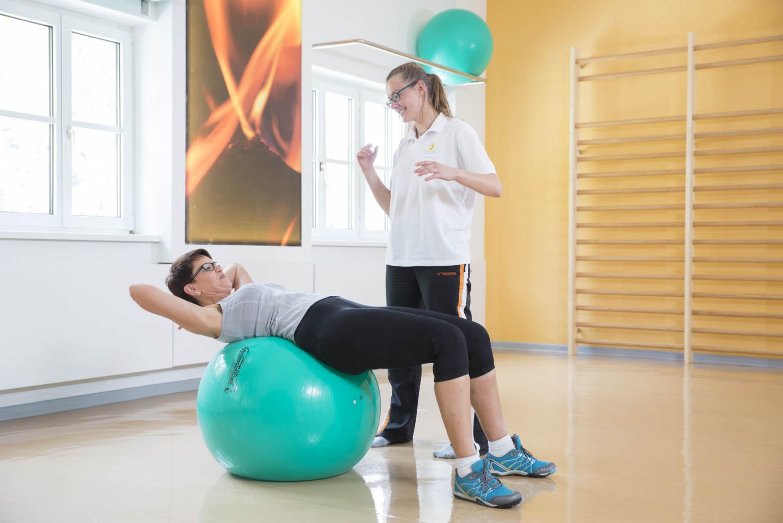Beweglichkeit durch Übungen