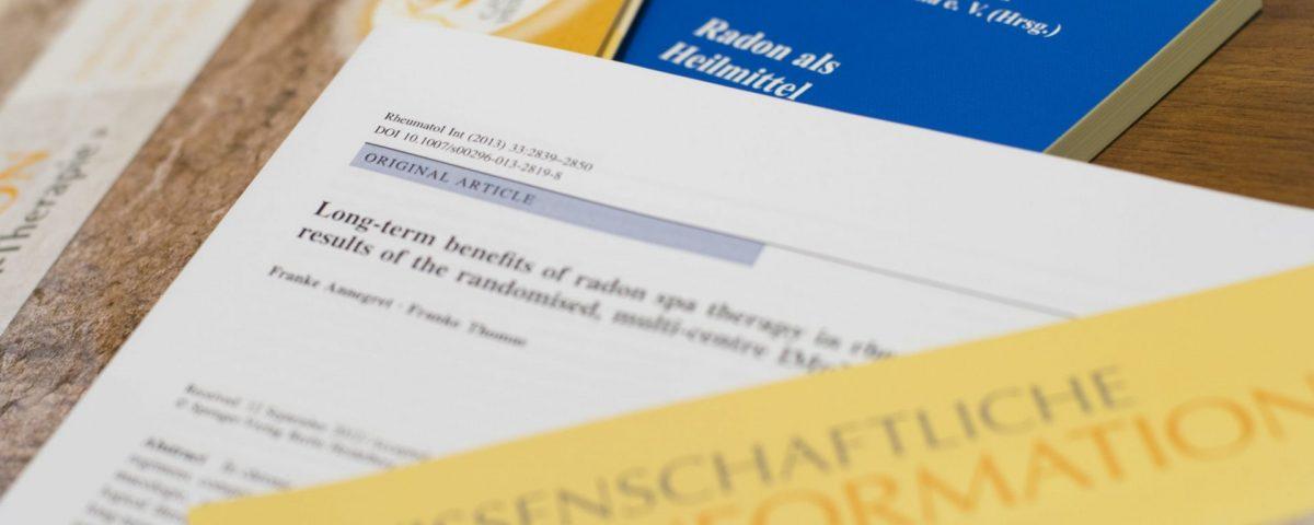 Forschungslage der Radontherapie