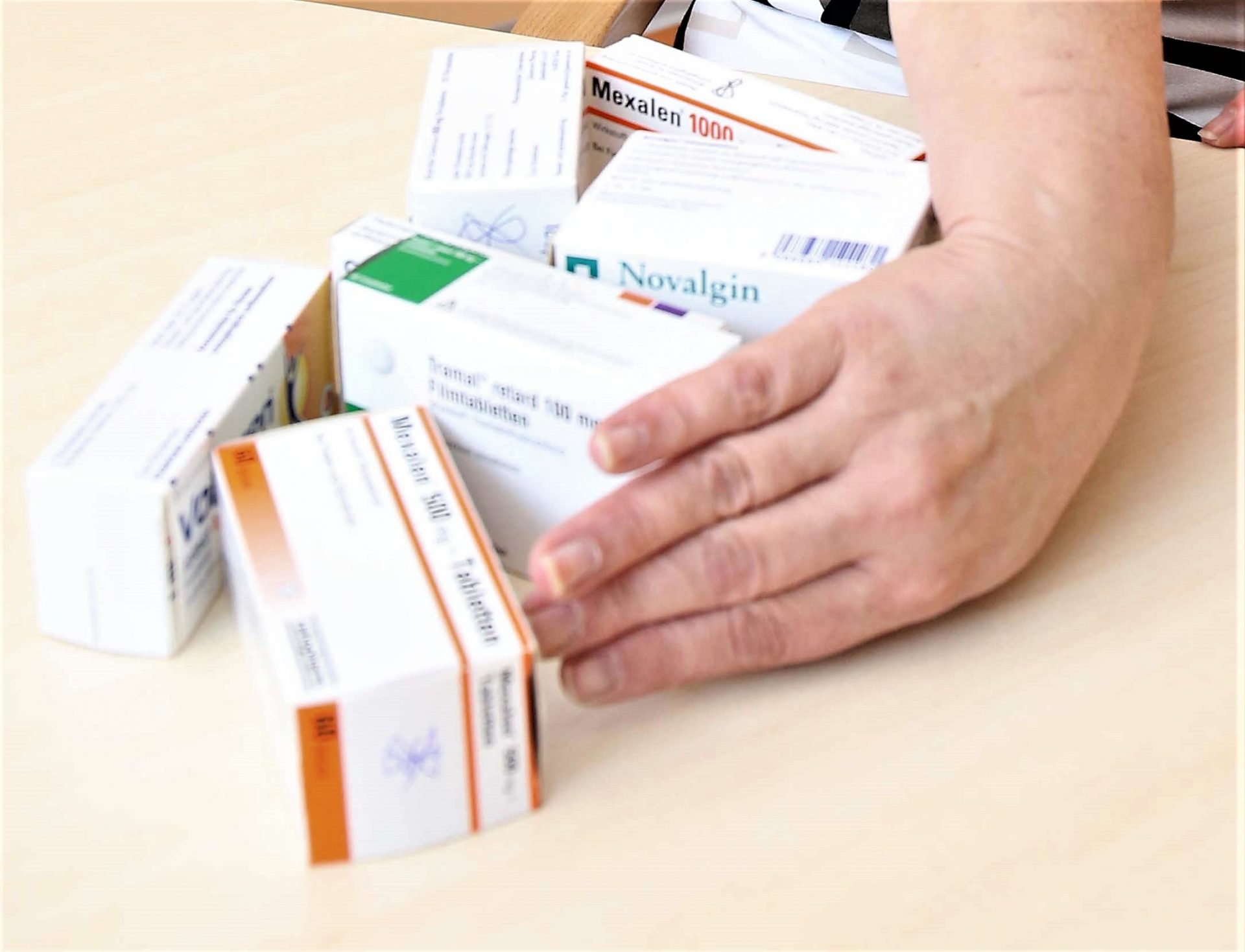 Medikamente bei Arthritis