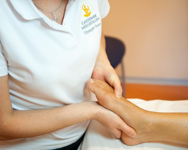Therapie: Fußreflexzonenmassage